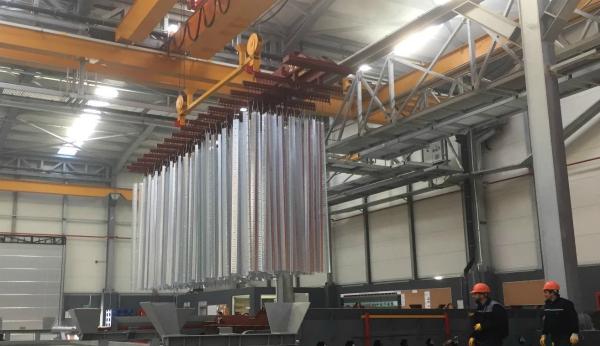Zinc Galvanization Plant
